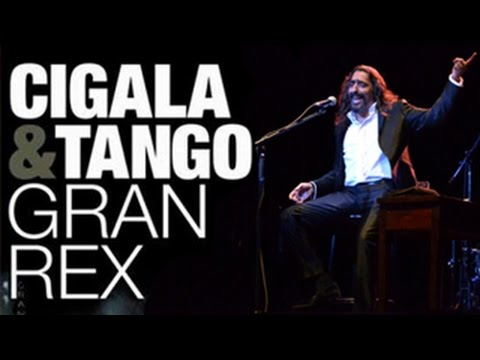 Cigala & Tango. Concierto Teatro Gran Rex de Buenos Aires