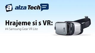 Hrajeme si s VR #4: Virtuální realita - Samsung Gear VR Lite - AlzaTech #244