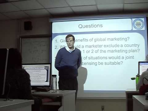18. Market Entry Strategies - International Marketing