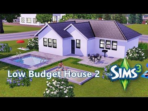 Sims 3 - Haus bauen - Let\'s build - Low Budget House 2