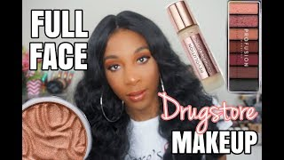 Watch Me Slay With Drugstore Makeup Full Face Of  Affordable Drugstore Makeup 2019