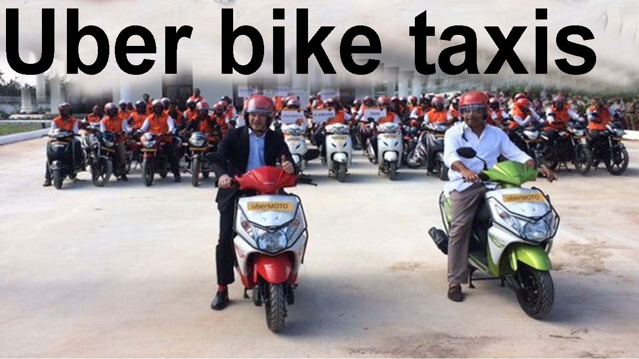 Uber Bike Taxi S In Hyderabad Telangana It Minister Ktr
