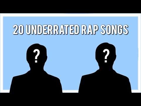 20 Unknown Rap Songs That Are Dope!