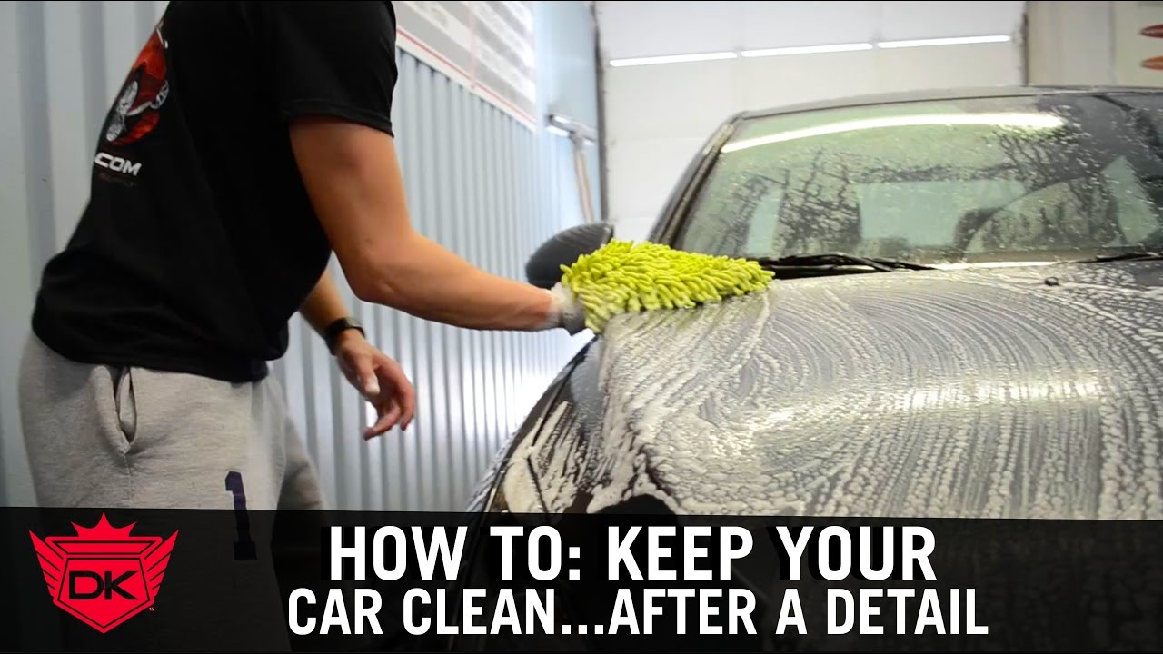How to keep your car clean after a detail youtube How to keep your car exterior clean
