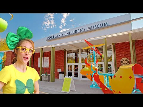Portland Children's Museum Is So AMAZING!