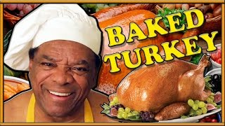 """Time to cook a Big Ol' Turkey & talk about the Warriors!"" Cooking 4 Poor People"