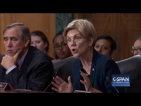"""Sen. Warren to Wells Fargo CEO: """"You should resign."""" (C-SPAN)"""