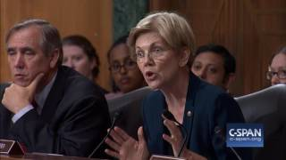 "Sen. Warren to Wells Fargo CEO: ""You should resign."" (C-SPAN)"