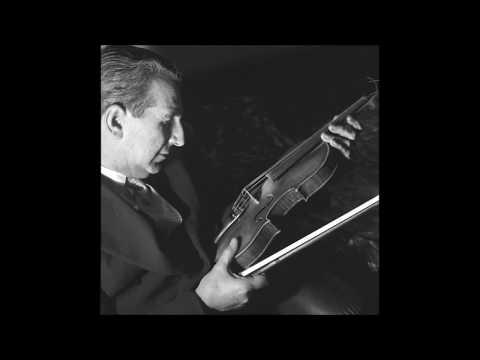 Aldo Ferraresi «The Gigli of the Violin» | Deutschlandfunk 15.6.2017 [GER sub ENG] ®