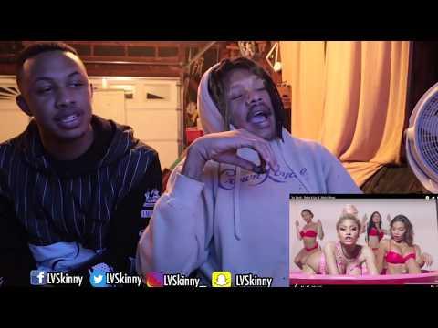 Yo Gotti Ft. Nicki Minaj - Rake It Up (Reaction Video) (LVSKINNY)