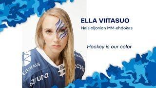 Naisten MM-ehdokkaat esittäytyvät - Puolustaja Ella Viitasuo