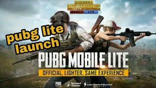 PUBG MOBILE LITE released deatails and gameplay[hindi]
