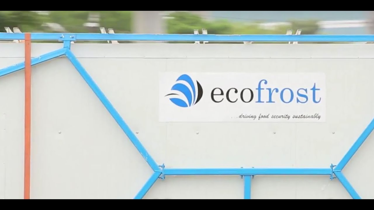 Ecofrost Solar Cold Storage Ecozen Youtube