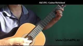 ЦЫГАНОЧКА на Гитаре - ВИДЕО УРОК 3-2/7. Как играть на гитаре