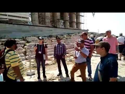 Guided tour of Acropolis Athens