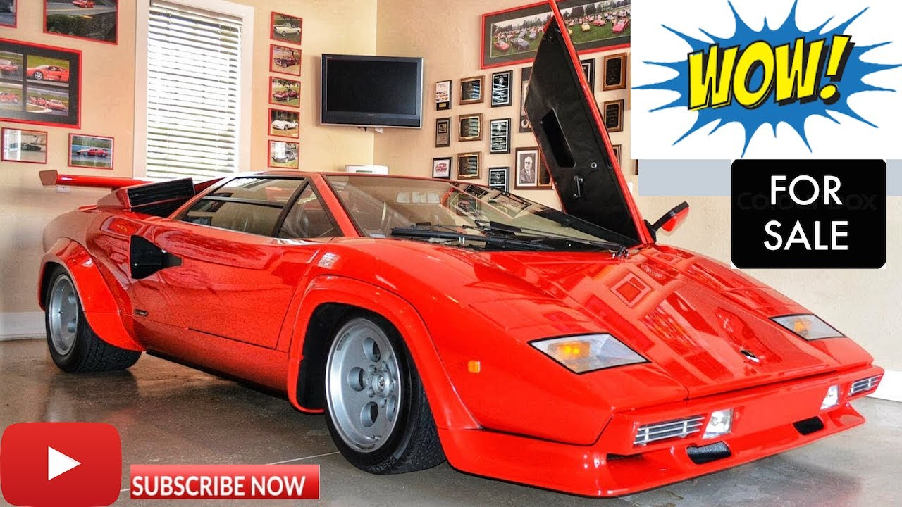 1980 Lamborghini Countach Lowbody Lp400s For Sale By Tony Rienzi