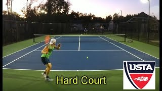 NTRP 5.0 vs 4.5 Tennis HARD COURT Rematch