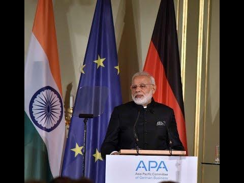 PM Shri Narendra Modi at the Indo-German Business Summit in Berlin, Germany : 30.05.2017