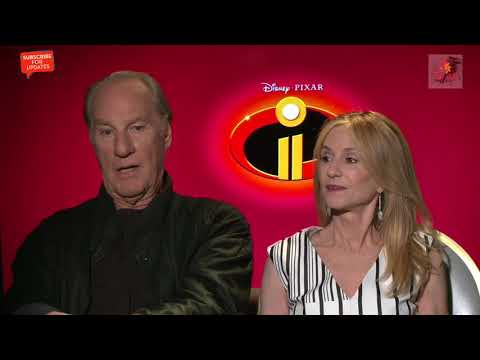 INCREDIBLES 2:2018 HOLLY HUNTER & CRAIGR INTERVIEW**FULL VERSION**