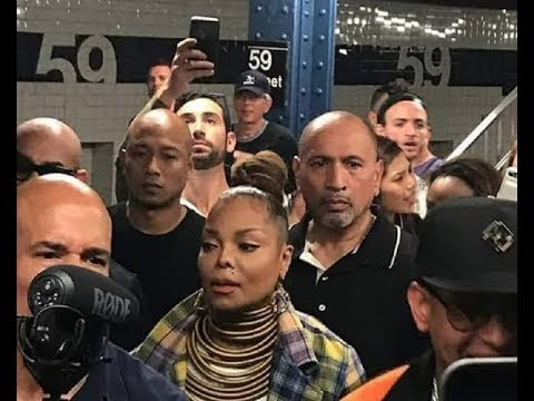 Image result for Daddy Yankee Joined Janet Jackson on Her First Subway Ride in New York
