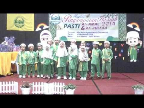 Persembahan Pelajar PASTI Az-Zulfa (2014)