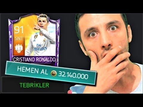 32 MİLYON COİNS CRİSTİANO RONALDO ALDIM !! YILIN TRANSFERİ !! Fifa Mobile