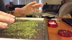 Decarboxylation of medical high CBD cannabis