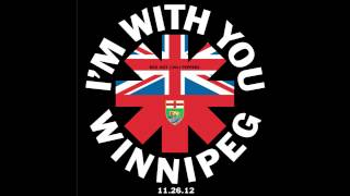 Red Hot Chili Peppers - I Could Have Lied - Live in Winnipeg, MB (November 26, 2012)