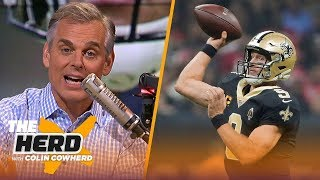 Drew Brees showed how a true leader operates, Deshaun Watson may end up like Luck | NFL | THE HERD