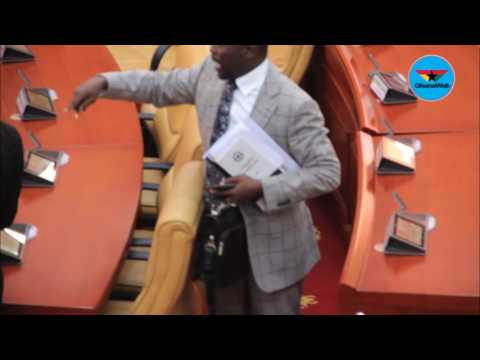 Minority walks out as Speaker refers motion on AMERI deal to Energy Committee
