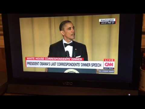 President Obama Ends WHCD With Mic Drop #WHCD