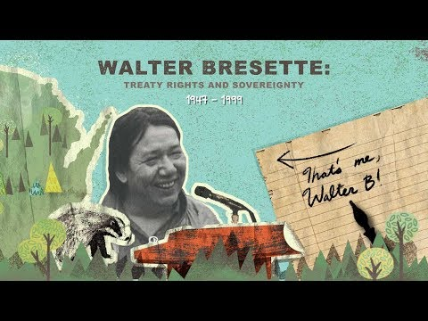 Walter Bresette: Treaty Rights and Sovereignty
