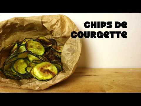 chips-de-courgette-||-recette-apéritif-facile-et-rapide.-courgettes-au-four