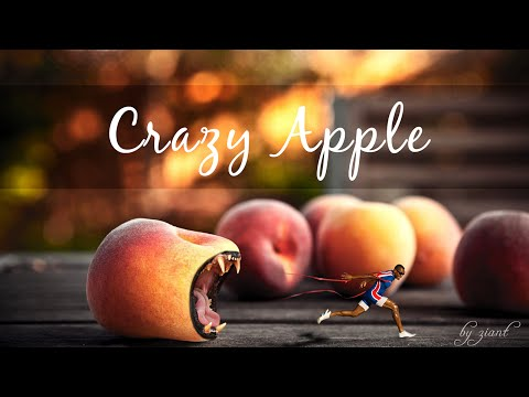 Photoshop Tutorial Crazy Apple Monster Blending And