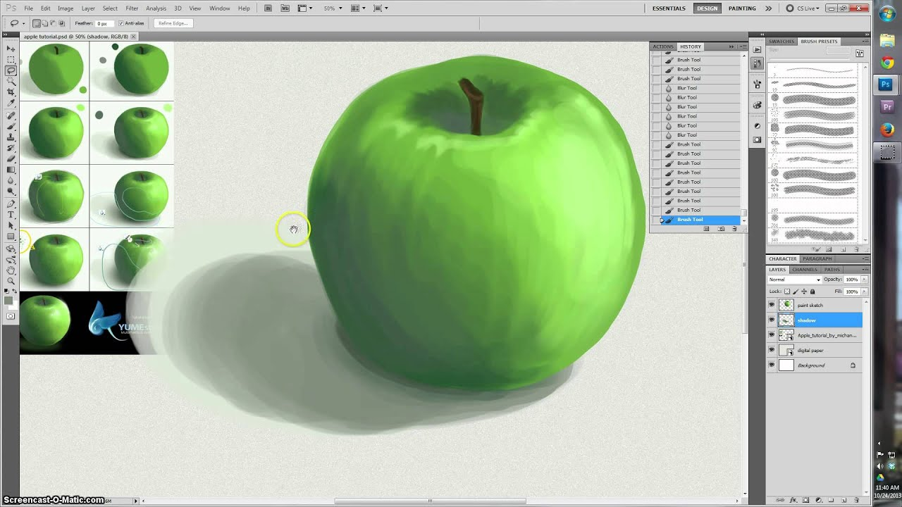 Deviant Apple Tutorial By Michan