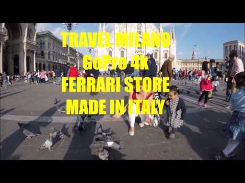 TRAVEL MILANO GoPro 4k MADE IN ITALY FERRARI CAR