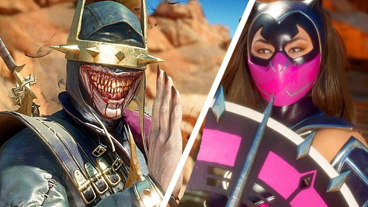 Mortal Kombat 11 Catwoman Skin gegen Batman Who Laughs Skin Gameplay Sehr schwer Schwierigkeitsgrad MK11 + video
