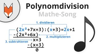 Polynomdivision (Mathe-Song)