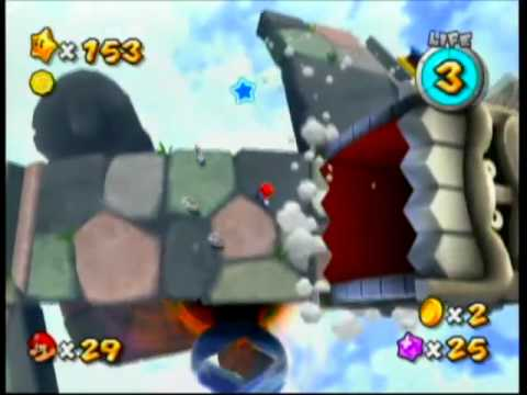 Super Mario Galaxy 2 - Silver Stars on the Cyclone