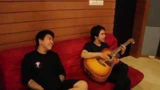 Sansan & Omo - Tentukan Akhir Yang Terbaik ( acoustic )