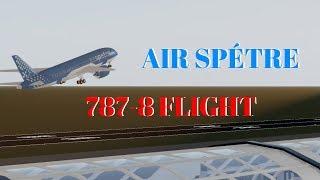 [ROBLOX] Air Spétre 787-8 Flight!