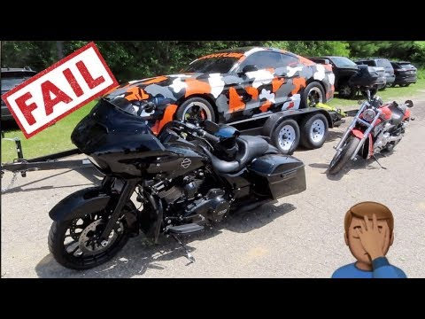 Repeat 2019 Harley Road Glide CVO 117 or Indian Chieftain 116? Demo