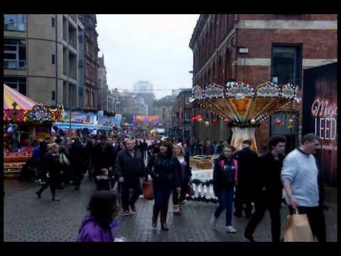 LEEDS GERMAN CHRISTMAS MARKET 2014