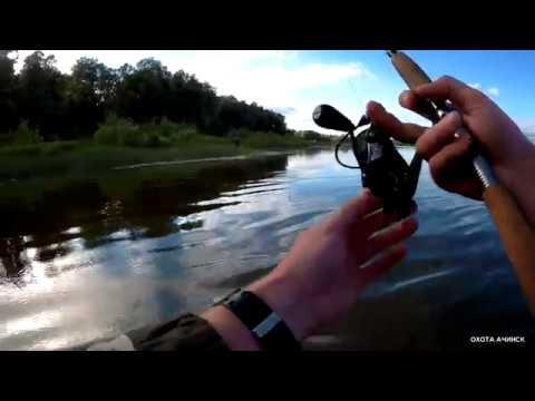 Рыбалка на спиннинг река Чулым!!!