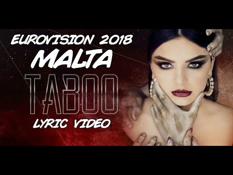 Christabelle - Taboo (Malta) 2018 (LYRIC VIDEO)