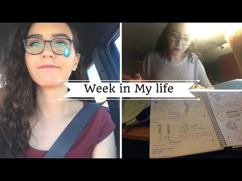 Stress and Exams 📖😭 | Week in the life of an Aerospace Engineering Student