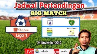 Jadwal bola hari ini liga 1 live TV | Persib vs Barito putra
