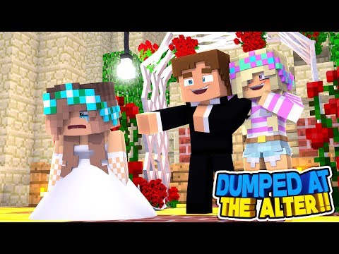 Minecraft - DONNY DUMPS HIS GIRLFRIEND AT THE WEDDING ALTER!! Donny & Leah Adventures