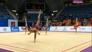 Bulgaria-6 Clubs+2 Hoops-AA-Grand Prix Moscow 2015