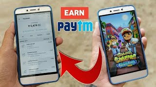 Get ₹10000 Paytm Cash By Playing Android Games 2018